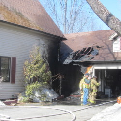 Police, fire officials investigating Rockland fire