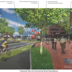 Portland revives plans to redesign high-traffic Franklin Street