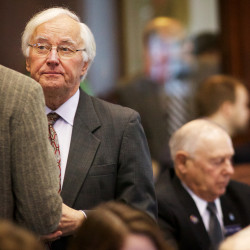 John Martin, longest serving lawmaker, in danger of losing seat