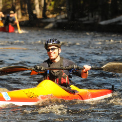 Belfast kayaker wins 2nd straight race in Penobscot Regatta
