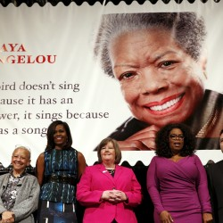 Maya Angelou says quote in MLK memorial out of context