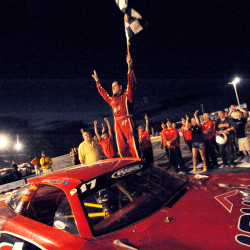 Fort Kent driver relieved to qualify early for TD Bank 250 after 250-lap race Saturday night