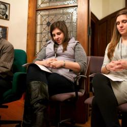 Catholic  youth share faith, support