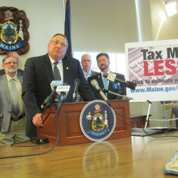 LePage's budget proposal sets up tax fight in Augusta
