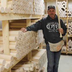 LaCasse Bats uses Maine-grown hardwoods to handcraft what the Boys of Summer swing