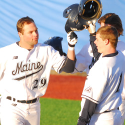 Morrill sparks 17-hit attack, UMaine baseball team pounds Boston College