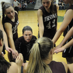 Orono High girls basketball coach passes 100-win mark