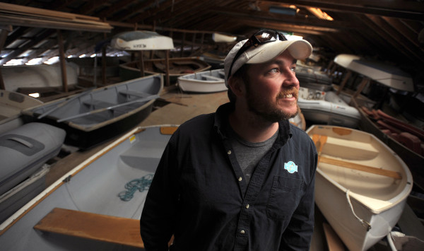 Josh Conover is a lobsterman and owner of Islesboro Marina.