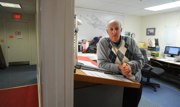 Islesboro Town Assessor Vern Ziegler.