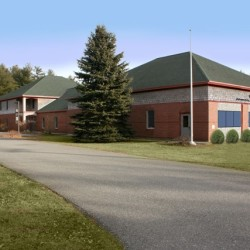 Architect Rendering New P.A.W.S. Animal Adoption Center Site
