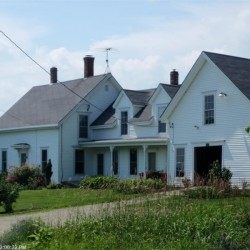 The front of Nathaniel Howe's homestead in Winterport.