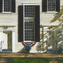 "Hydrangea Watercolor,  30"" x 40"""
