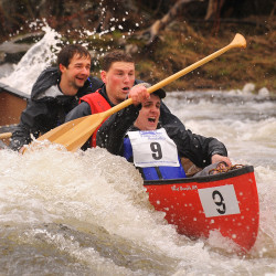 High tides cause Kenduskeag canoe race to be shortened by 1 mile