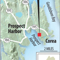 Corea Maine Map.Developer Proposes Maine S Largest Solar Array At Former Corea Navy
