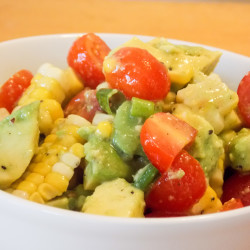 Tomato-corn salad ushers in cool season