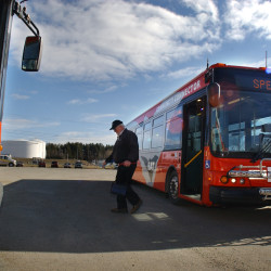 Plan to eliminate Hampden bus route Saturdays is the focus of public meeting