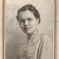 Dorothy Peterson in 1935