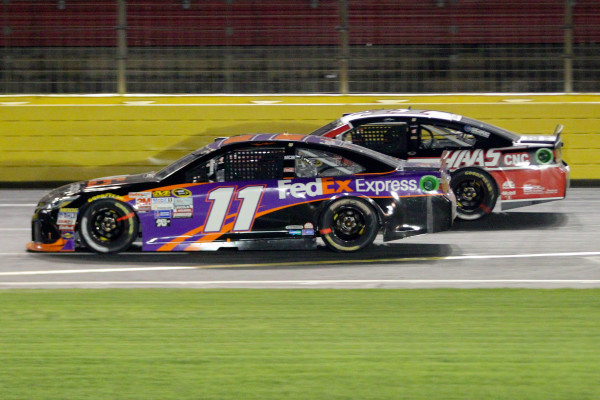 5878215aae686d Denny Hamlin races to his first All-Star win — Auto Racing — Bangor Daily  News — BDN Maine