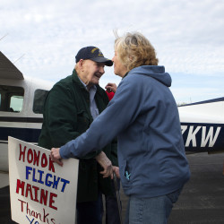 Honor Flight trip offers Maine veterans a second chance at a 'welcome home'