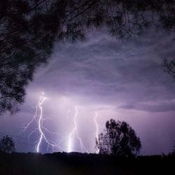 Teen survives lightning strike in Naples