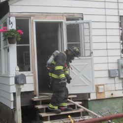 Fire damages Camden home