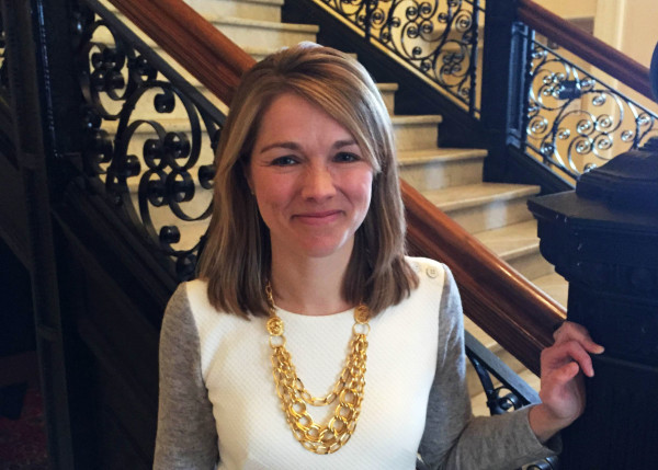 Carlisle McLean, pictured at the State House after her confirmation to the Maine Public Utilities Commission in January.