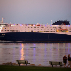 How much is ferry service to Nova Scotia worth to Portland?