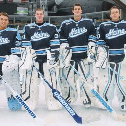 UMaine 'video guy' Strickrott realizes dream of playing Division I hockey