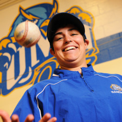 NCAA's only female baseball pitcher overcomes harassment, pursues dream at UMaine-Presque Isle