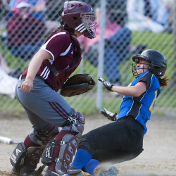 Theberge, Haskell power Hermon past Wells for Class B state softball title