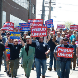 Four Bath Iron Works unions endorse Republican Sen. Susan Collins' re-election bid