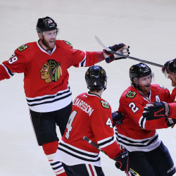 Chicago edges Detroit in overtime
