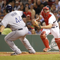 Lackey, Victorino power Red Sox past Rays