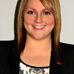 Angele Bourgoin, Key Bank Branch Manager Madawaska