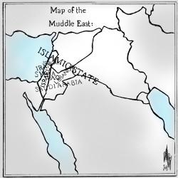 Muddle East Map