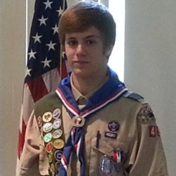 Hampden teen improves pool for Eagle Scout project