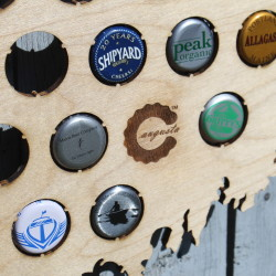 Couple turns thousands of beer-bottle caps into regional folk art