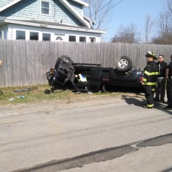 Crash reported at intersection of Griffin, Ohio streets