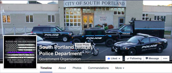 When is it OK for police to publish mug shots on Facebook