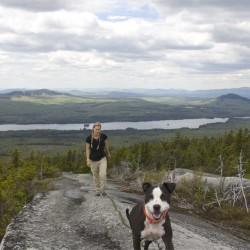 BDN hiker loses her way