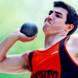 Old Town boys, Hampden Academy girls capture PVC Large School track crowns