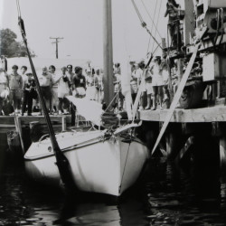 Landing School launch circa 1980