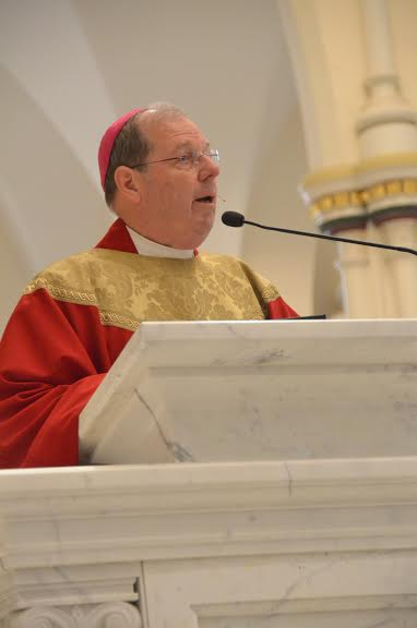 Bishop Robert P. Deeley, head of the Roman Catholic Diocese of Portland.