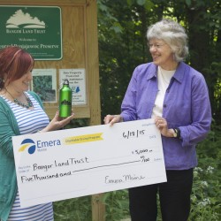 Bangor Hydro gives $5,000 to land trust