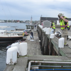 Vinalhaven ferry delayed by spill near terminal