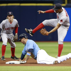 Dodgers' Nolasco outduels Lackey, Red Sox