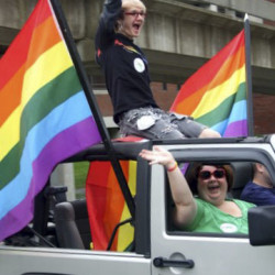 Bangor Pride Festival attendees celebrate and 'Keep up the Momentum'