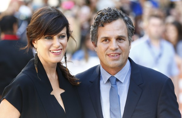 Mark Ruffalo arrives with his wife Sunrise Coigney for the &quotFoxcatcher&quot gala at the Toronto International Film Festival (TIFF) in Toronto, September 8, 2014.