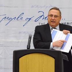 LePage nears Maine record for overridden vetoes