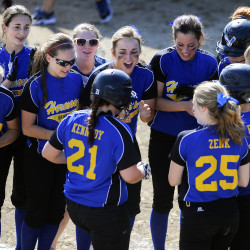 Hermon left-handed pitcher shuts down Gardiner as Hawks win Eastern Maine Class B softball title